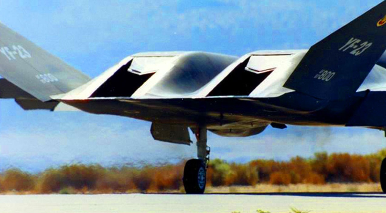 YF-23 Declassified - How Its Stealth Surpassed The F-22 - World War Wings