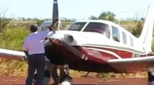 Guy Messes With Propeller Without Knowing What He's Doing