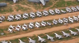 This Detailed Aerial Footage Of The Biggest Aircraft Boneyard Is Almost Unreal