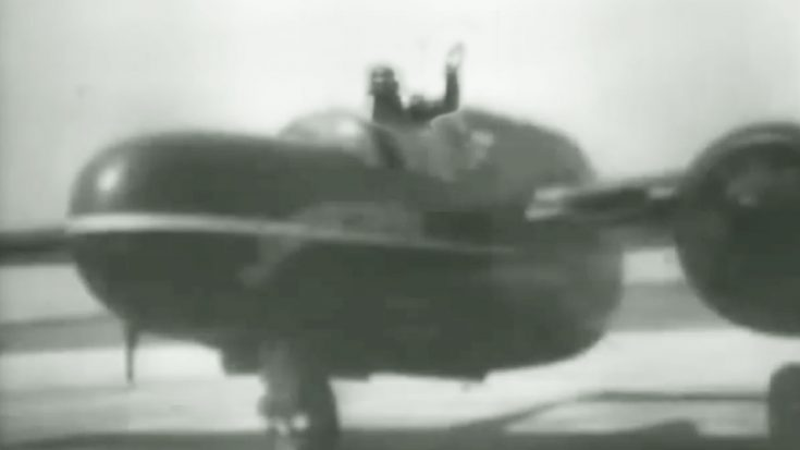Incredibly Rare Footage Of P-61 Black Widow Pilot Testing New Ejection Seat | World War Wings Videos