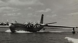 Footage Of Maiden Flight Of Rare Saunders Princess-Largest All-Metal Flying Boat Ever Made