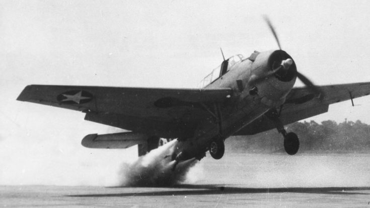 Interesting Footage Of Avenger Taking Off Using JATO For The First Time | World War Wings Videos