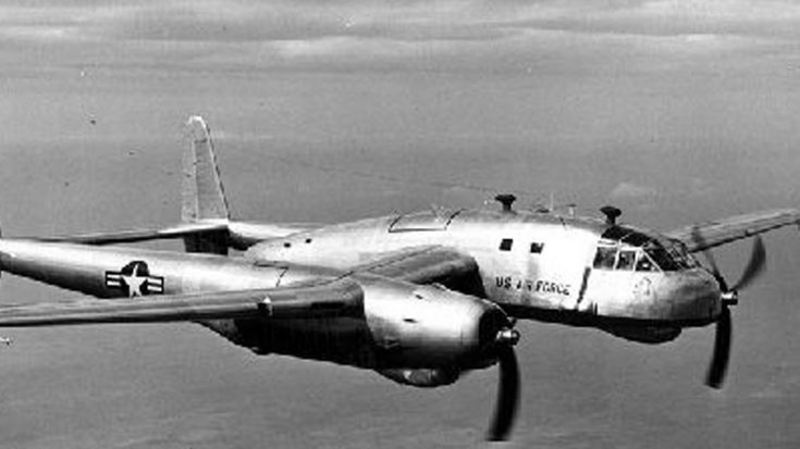 Once Secret Footage Of Fairchild's XC-120 Packplane Shows Container Separation | World War Wings Videos
