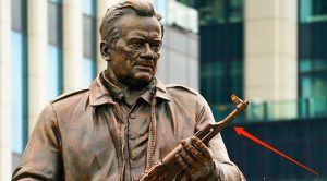 Russia Dedicates Statue To Creator Of AK-47 – But It Has A Serious Mistake