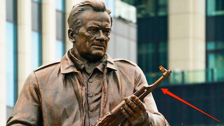 Russia Dedicates Statue To Creator Of AK-47 – But It Has A Serious Mistake | World War Wings Videos