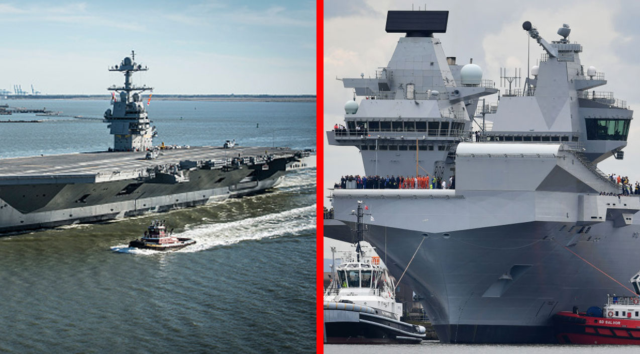 Uss Gerald R Ford Vs Hms Queen Elizabeth Time To End