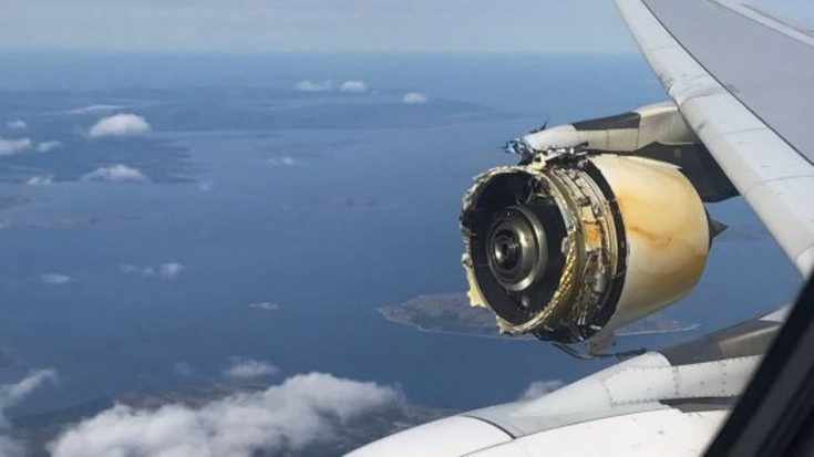 Raw Footage Shows Engine Blow Out At 37K Feet During Airbus Flight From Paris To L.A. | World War Wings Videos