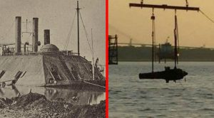 US Navy Raises Gigantic 150-Year-Old Confederate Battleship From Sunken Grave