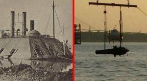 US Navy Raises Gigantic 150-Year-Old Confederate Battleship From Sunken Grave