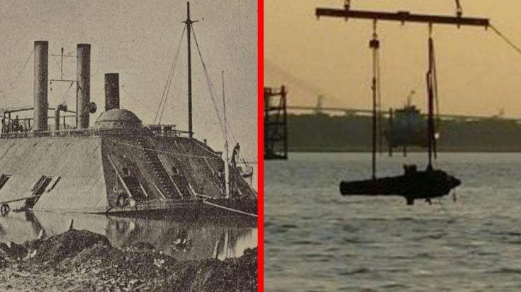 US Navy Raises Gigantic 150-Year-Old Confederate Battleship From Sunken Grave | World War Wings Videos