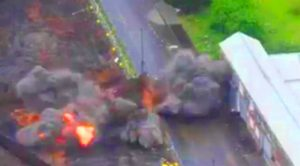 WWII Bomb Explosion Tears Through Construction Site – Three Men Caught In The Blast