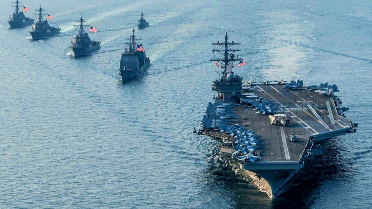 Escalating Tensions With North Korea Forces US Navy To Bring In Third Carrier Group | World War Wings Videos