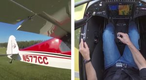 Video Of How You Take Off In A Cub In About 2 Seconds