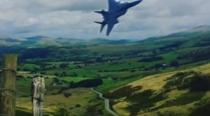 Guy Films Probably The Best Mach Loop Flyby Of All Time