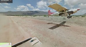 Google Maps Street View Car Captures A Plane Chasing It