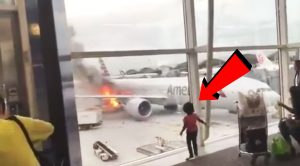 Passenger Captures His Flight Catch Fire In This Raw Video-But That's Not The Worst Of It