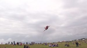 Red Arrows Make Two Killer Flybys  50ft Over Camped Out Spectators-Turn Up The Volume!