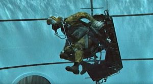 This Vintage Underwater Ejection Training Footage Will Make You Literally Hold Your Breath
