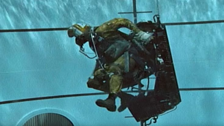 This Vintage Underwater Ejection Training Footage Will Make You Literally Hold Your Breath | World War Wings Videos