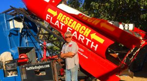 Man Builds Homemade Rocket To Launch Himself And Prove Earth Is Flat