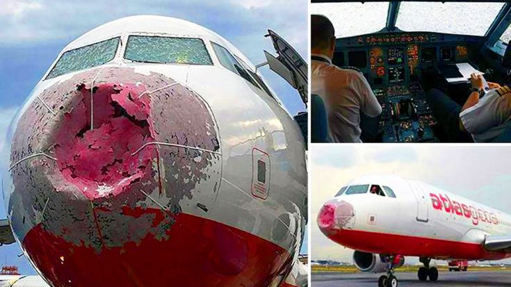 Only One Thing Could Inflict This Kind Of Massive Damage To An Airliner   World War Wings Videos