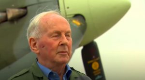 95-Year-Old Luftwaffe Ace Tries Out Spitfire For First Time