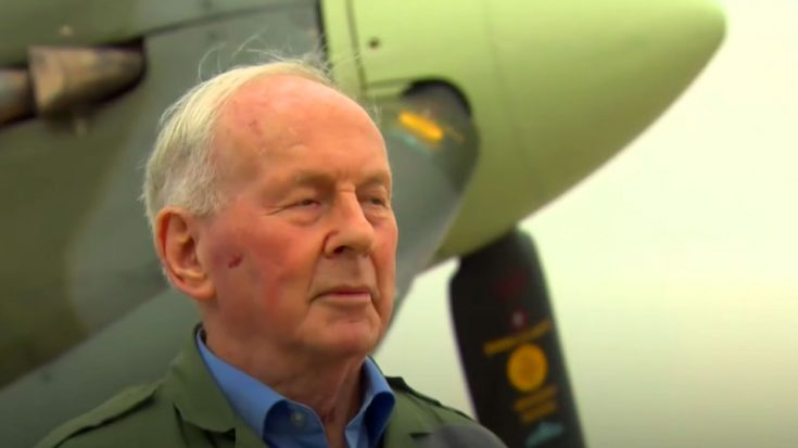 95-Year-Old Luftwaffe Ace Flies Spitfire For First Time – He Has Some Strong Feelings About It | World War Wings Videos