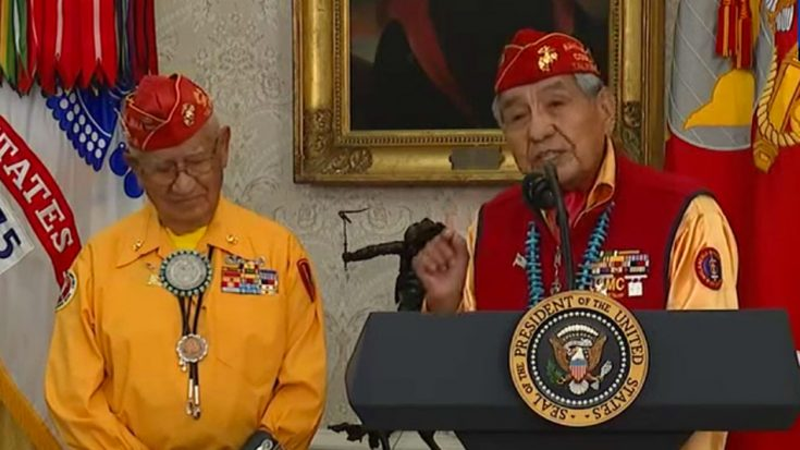 Put Aside Controversies – The Navajo Code Talkers Gave An Extremely Inspirational Speech | World War Wings Videos