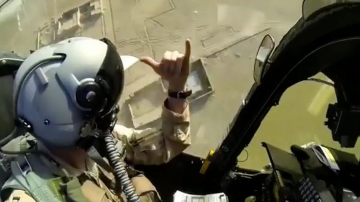 This A-10 Interior Firing Footage Will Give You Chills | World War Wings Videos