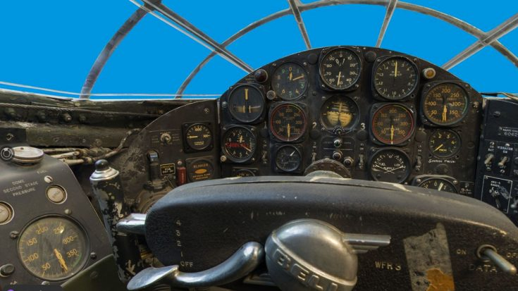 Take A Look Around Yeager's Bell X-1 Cockpit In This Stunning 360 Photo | World War Wings Videos