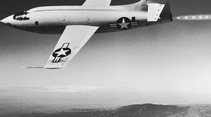 Actual Footage Of Yeager Officially Breaking The Sound Barrier In The Bell X-1A