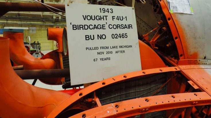 Here Are The Latest Pics Of The Birdcage Corsair Under Restoration | World War Wings Videos