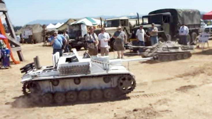 This Guy Brought A Massive Rc StuG II To An Airshow And People Loved It | World War Wings Videos