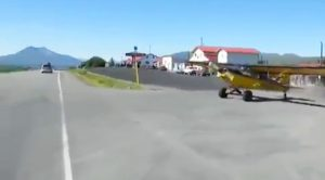 Apparently In The Backcountry, You Can Pull Up To A Store In A Plane And Take The Road Out