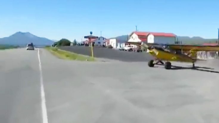 Apparently In The Backcountry, You Can Pull Up To A Store In A Plane And Take The Road Out | World War Wings Videos