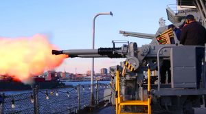 Battleship New Jersey Fires Its Gigantic Guns For The First Time In 60 Years