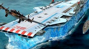 The Biggest Manmade Machine Ever Devised – The Iceberg Aircraft Carrier
