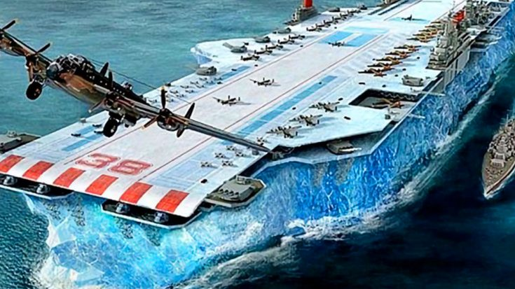 The Biggest Manmade Machine Ever Devised – The Iceberg Aircraft Carrier | World War Wings Videos