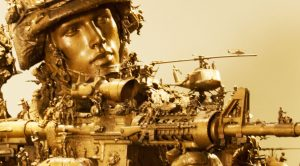 A Sculptor Made Three Statues For The Marine Corps Museum And The Details Are Stunning