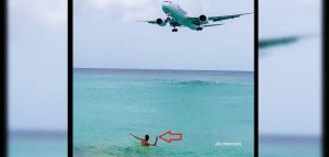 Stupid Guy Waited For A Low Approaching Aircraft To Show Off-Should He Face Jail Time?