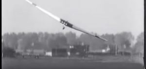 Incredible Footage Of Germany's Flying Wing Performing First Test Flight In 1935
