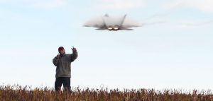 Old Man Makes Video While Braving Multiple Buzzes By F-22 Raptor-This Is Absolutely Priceless