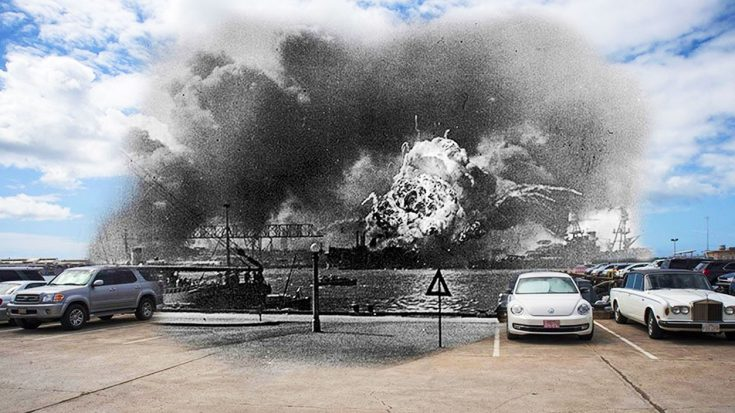 U.S. Navy Photographer Recreates Stunning Pictures Of Pearl Harbor Then And Now (Slideshow) | World War Wings Videos