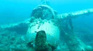 Here's A Rare Look At A WWII Aichi E13A That Went Down In Palau
