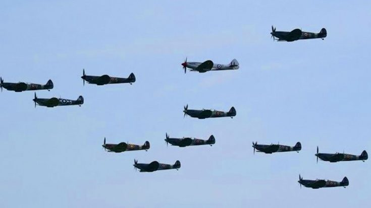 It Has Been A Long Time Since This Many Spitfires Got Together – Hear That Sound | World War Wings Videos