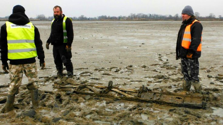 Rotting Remains Of Soviet Bomber Discovered Near Nazi Concentration Camp   World War Wings Videos