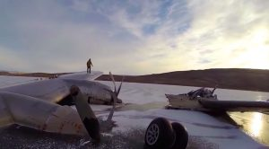 Frozen Remains Of The Kee Bird – How Does The Massive B-29 Look 24 Years After The Disaster?