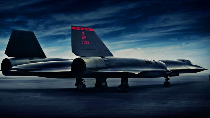"""The Sole Reason The Blackbird Is The Only Aircraft Designated """"SR"""" 