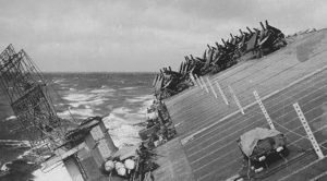 The Massive Storm That Nearly Crippled The US Navy During WWII