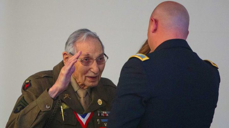 WWII Badge Finally Returned To 100-Year-Old Vet – The Reason Shameful It Was Taken | World War Wings Videos